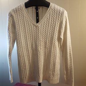 Croft & Barrow Cotton Sweater